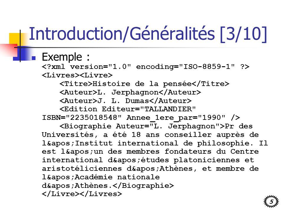 Introduction/Généralités [3/10]